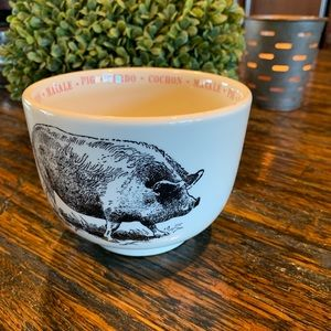 Pig Farmhouse Style Coffee Mug Large Rustic